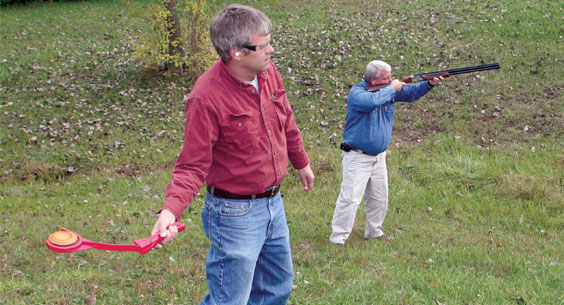 Clay pigeons and how to use them