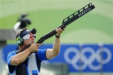 olympic trap shooting