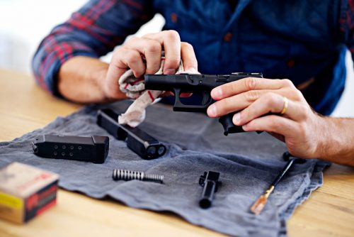 what you will find in a gun cleaning kit