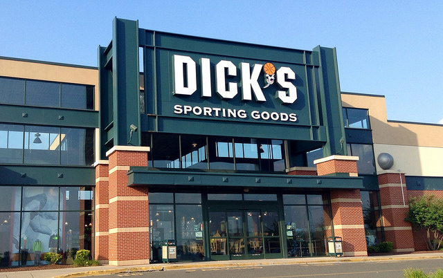sporting goods building
