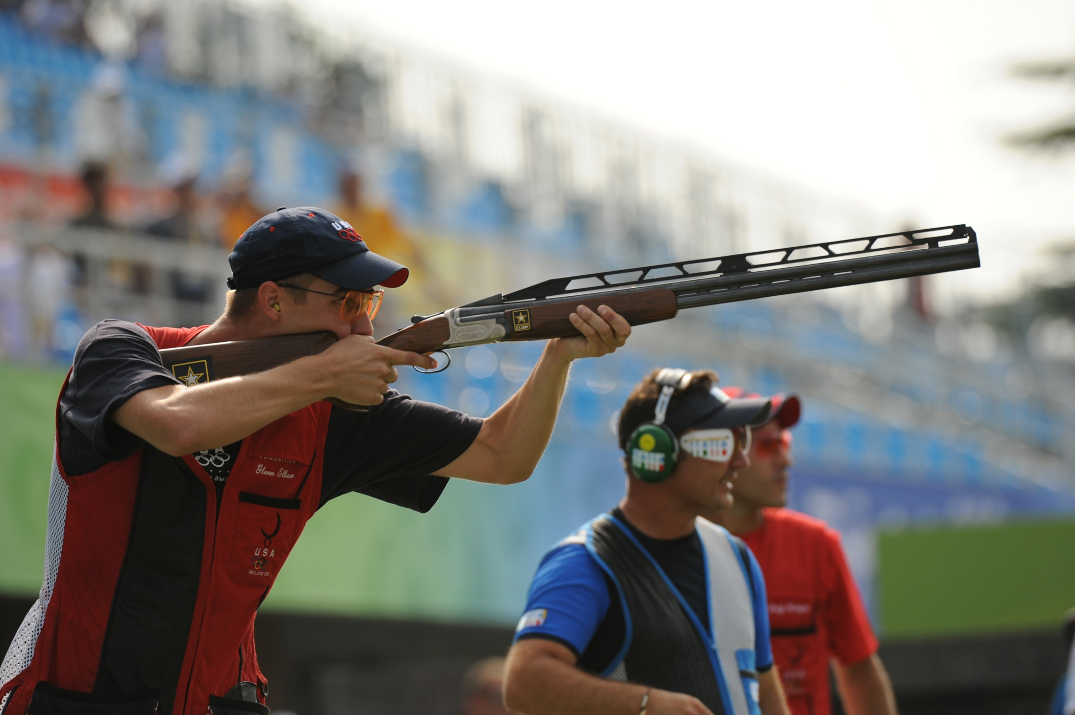 olympic participants for clay shooting